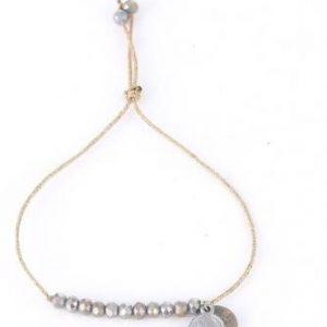 Perlenarmband Silber Coins Schmuck Interior Boho Scandi Look anitimadeforyou Concept Store Langenfeld Trockenblumen, Trockenblumen Kränze, Workshops, Schmuck