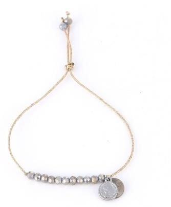 Perlenarmband Silber Coins Alles Interior Boho Scandi Look anitimadeforyou Concept Store Langenfeld Trockenblumen, Trockenblumen Kränze, Workshops, Schmuck