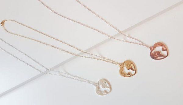 Weltenbummler Halskette rosegoldfarben Alles Interior Boho Scandi Look anitimadeforyou Concept Store Langenfeld Trockenblumen, Trockenblumen Kränze, Workshops, Schmuck