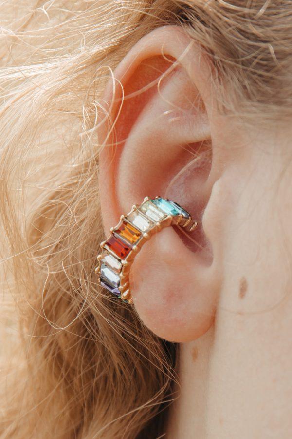 Ohrschmuck earcuff gold