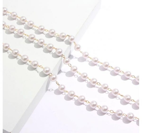 Brillenkette Perlen Weiß Alles Interior Boho Scandi Look anitimadeforyou Concept Store Langenfeld Trockenblumen, Trockenblumen Kränze, Workshops, Schmuck