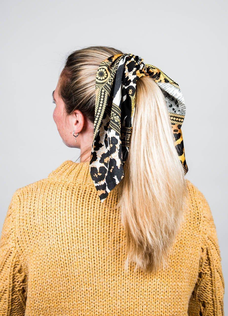 frisuren trends mit haarbänder