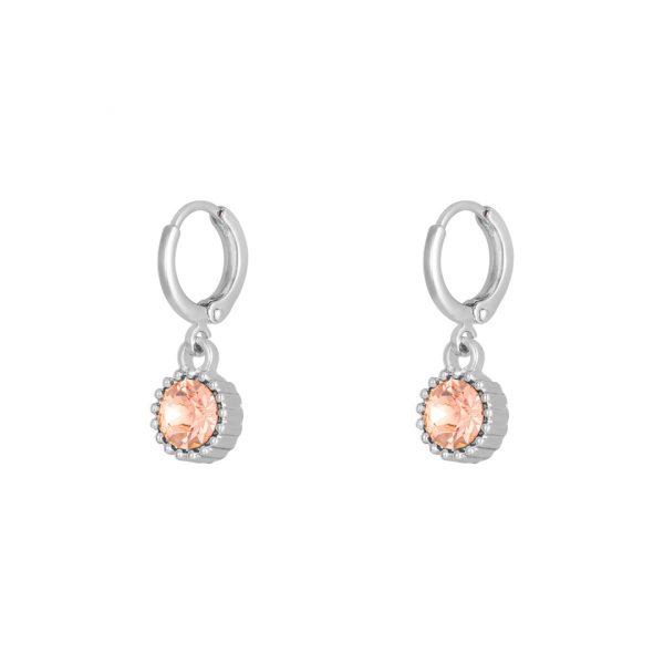 Ohrringe Shine Silber Optik Pink Alles Interior Boho Scandi Look anitimadeforyou Concept Store Langenfeld Trockenblumen, Trockenblumen Kränze, Workshops, Schmuck