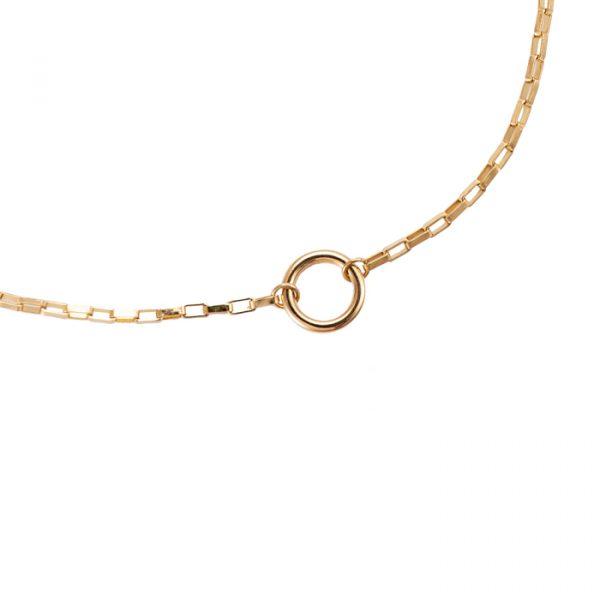 Ring Charm Edelstahl Halskette vergoldet Alles Interior Boho Scandi Look anitimadeforyou Concept Store Langenfeld Trockenblumen, Trockenblumen Kränze, Workshops, Schmuck