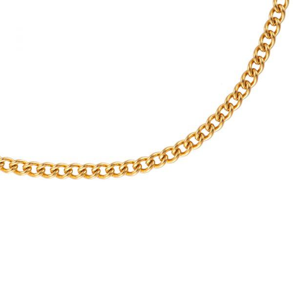 Simple Small Chain Edelstahl Halskette vergoldet Alles Interior Boho Scandi Look anitimadeforyou Concept Store Langenfeld Trockenblumen, Trockenblumen Kränze, Workshops, Schmuck