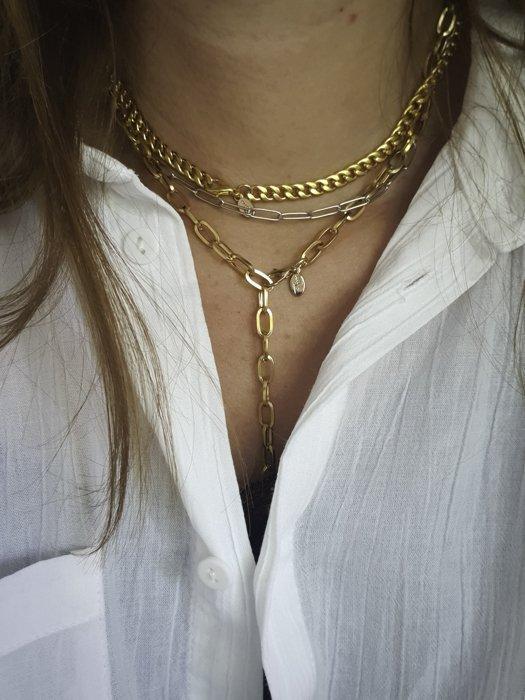 Stemo Chain Halskette Gold Optik Alles Interior Boho Scandi Look anitimadeforyou Concept Store Langenfeld Trockenblumen, Trockenblumen Kränze, Workshops, Schmuck