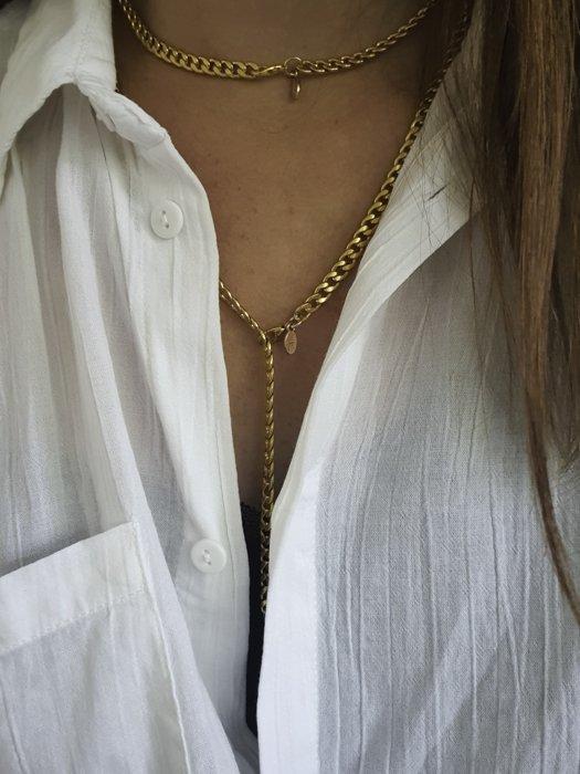 Ella Chain Halskette Silber Optik Alles Interior Boho Scandi Look anitimadeforyou Concept Store Langenfeld Trockenblumen, Trockenblumen Kränze, Workshops, Schmuck
