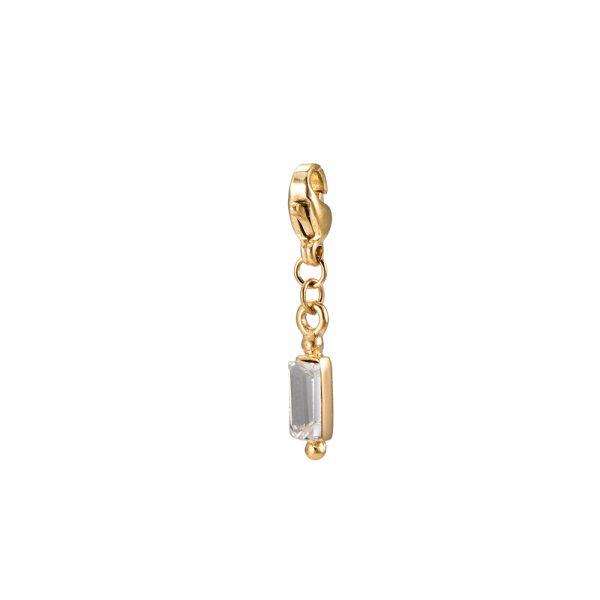 Versailles Charm Anhänger Gold mit Zirkonia Alles Interior Boho Scandi Look anitimadeforyou Concept Store Langenfeld Trockenblumen, Trockenblumen Kränze, Workshops, Schmuck
