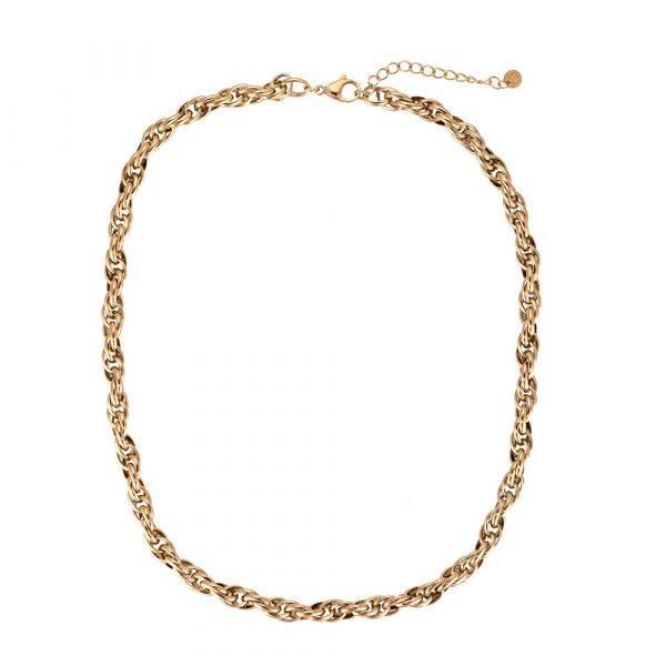 Chain by Chain Edelstahl Halskette vergoldet Alles Interior Boho Scandi Look anitimadeforyou Concept Store Langenfeld Trockenblumen, Trockenblumen Kränze, Workshops, Schmuck