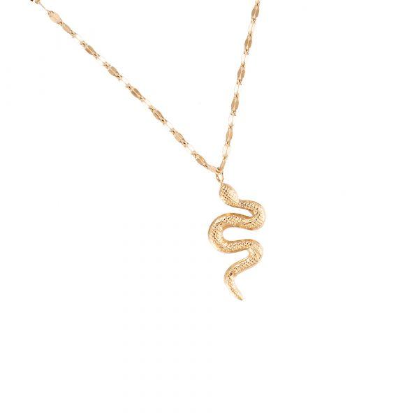 Snake Edelstahl Halskette vergoldet Alles Interior Boho Scandi Look anitimadeforyou Concept Store Langenfeld Trockenblumen, Trockenblumen Kränze, Workshops, Schmuck
