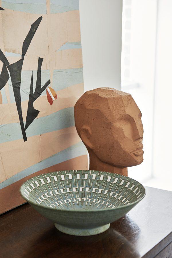 Terrakotta Skulptur Kopf HKLIVING Alles Interior Boho Scandi Look anitimadeforyou Concept Store Langenfeld Trockenblumen, Trockenblumen Kränze, Workshops, Schmuck