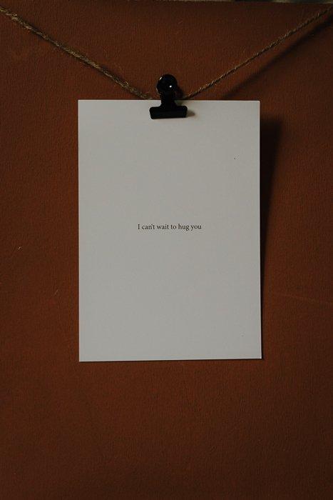 Postkarte Can't wait to hug you Alles Interior Boho Scandi Look anitimadeforyou Concept Store Langenfeld Trockenblumen, Trockenblumen Kränze, Workshops, Schmuck