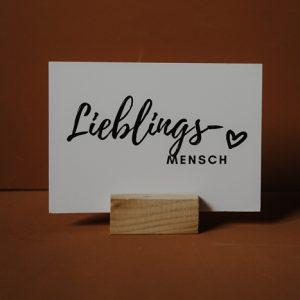 Postkarte Lieblingsmensch Papeterie Interior Boho Scandi Look anitimadeforyou Concept Store Langenfeld Trockenblumen, Trockenblumen Kränze, Workshops, Schmuck