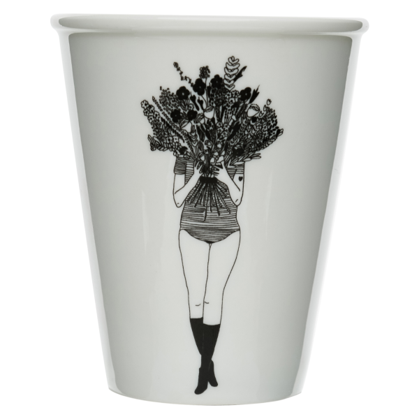 Becher Blumenmädchen HelenB Alles Interior Boho Scandi Look anitimadeforyou Concept Store Langenfeld Trockenblumen, Trockenblumen Kränze, Workshops, Schmuck