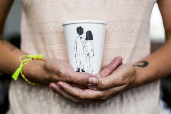 Becher Naked Couple Back Alles Interior Boho Scandi Look anitimadeforyou Concept Store Langenfeld Trockenblumen, Trockenblumen Kränze, Workshops, Schmuck