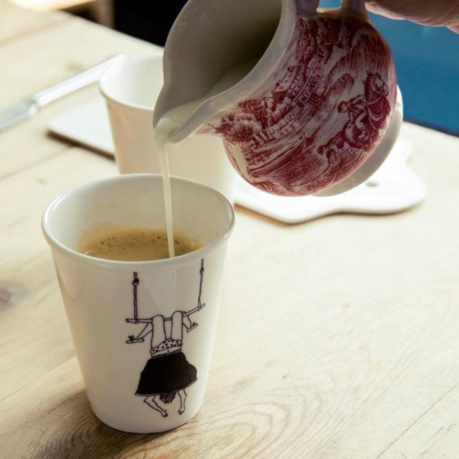 Kaffe in der Tasse