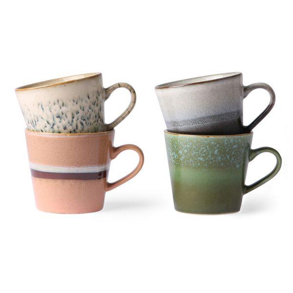 Cappuccino Keramikbecher 70's HKLIVING Alles Interior Boho Scandi Look anitimadeforyou Concept Store Langenfeld Trockenblumen, Trockenblumen Kränze, Workshops, Schmuck