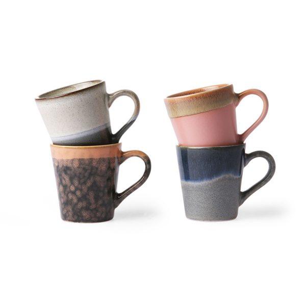 70s Keramik: Espresso Tassen HKLIVING Alles Interior Boho Scandi Look anitimadeforyou Concept Store Langenfeld Trockenblumen, Trockenblumen Kränze, Workshops, Schmuck