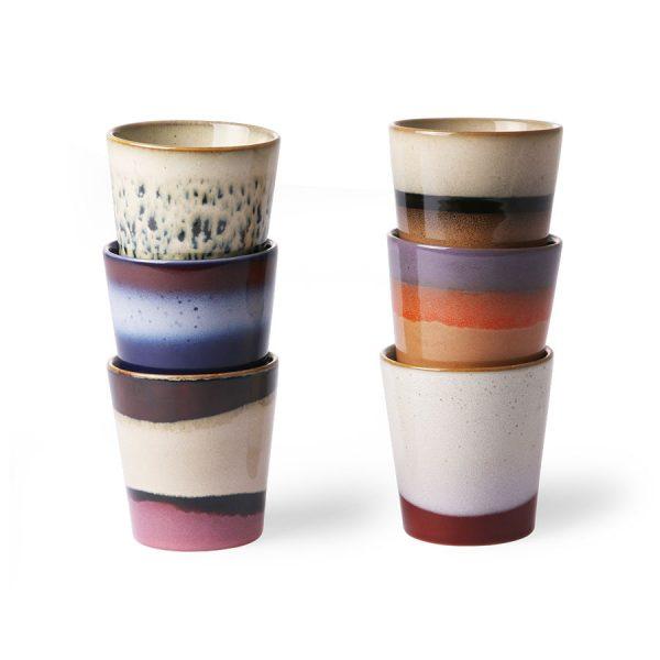 Kaffee Keramikbecher 70's HKLIVING Alles Interior Boho Scandi Look anitimadeforyou Concept Store Langenfeld Trockenblumen, Trockenblumen Kränze, Workshops, Schmuck