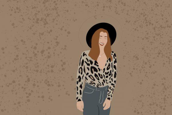 Personalisierte Illustration von Jula Alles Interior Boho Scandi Look anitimadeforyou Concept Store Langenfeld Trockenblumen, Trockenblumen Kränze, Workshops, Schmuck