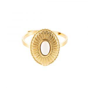 St Laurent Edelstahl Ring Gold Optik Alles Interior Boho Scandi Look anitimadeforyou Concept Store Langenfeld Trockenblumen, Trockenblumen Kränze, Workshops, Schmuck