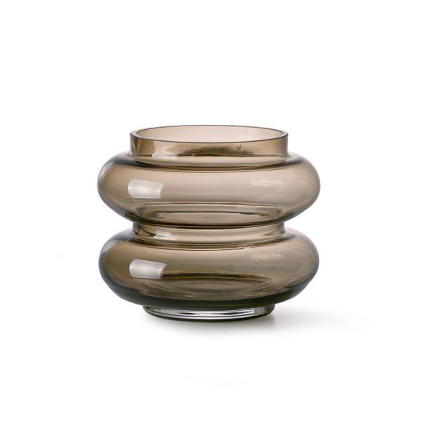 Vase Smoked Brown HKLIVING Alles Interior Boho Scandi Look anitimadeforyou Concept Store Langenfeld Trockenblumen, Trockenblumen Kränze, Workshops, Schmuck