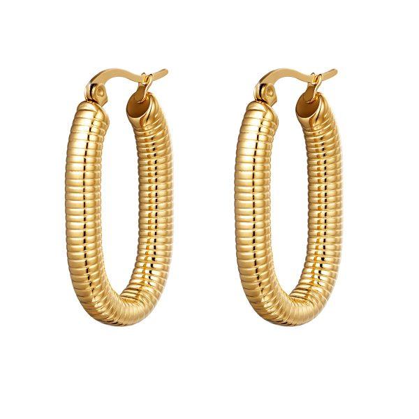 Ohrringe oval spring Gold Optik Schmuck Interior Boho Scandi Look anitimadeforyou Concept Store Langenfeld Trockenblumen, Trockenblumen Kränze, Workshops, Schmuck