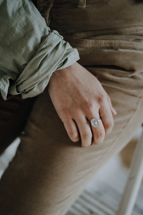 St Laurent Edelstahl Ring Silber Optik Alles Interior Boho Scandi Look anitimadeforyou Concept Store Langenfeld Trockenblumen, Trockenblumen Kränze, Workshops, Schmuck