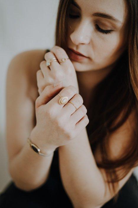 Sacred Edelstahl Ring vergoldet Alles Interior Boho Scandi Look anitimadeforyou Concept Store Langenfeld Trockenblumen, Trockenblumen Kränze, Workshops, Schmuck
