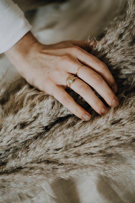Simple 2.0 Edelstahl Ring vergoldet Alles Interior Boho Scandi Look anitimadeforyou Concept Store Langenfeld Trockenblumen, Trockenblumen Kränze, Workshops, Schmuck