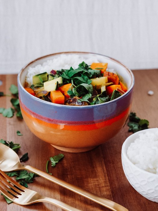 Frühlingsrezepte - Curry