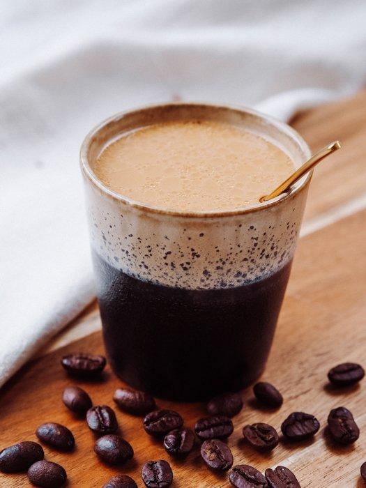 Frühlingsrezepte - Kaffee in der Tasse