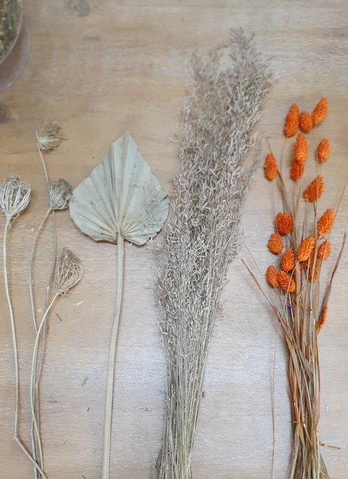 getrocknetes Munni Grass Mini Bund Alles Interior Boho Scandi Look anitimadeforyou Concept Store Langenfeld Trockenblumen, Trockenblumen Kränze, Workshops, Schmuck