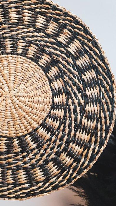 Teller Untersetzer Schwarz Alles Interior Boho Scandi Look anitimadeforyou Concept Store Langenfeld Trockenblumen, Trockenblumen Kränze, Workshops, Schmuck