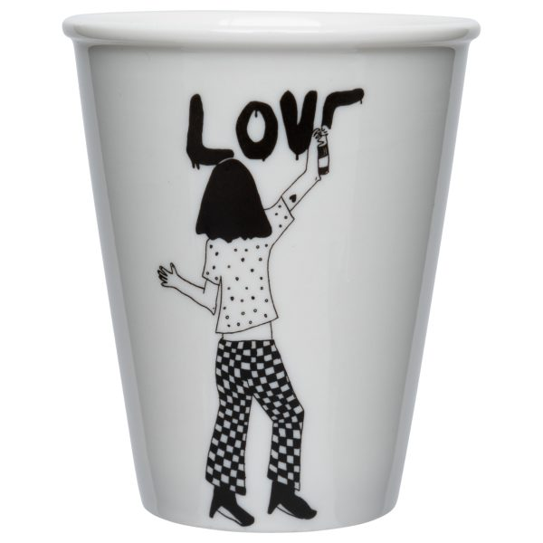 Becher LOVE HelenB Alles Interior Boho Scandi Look anitimadeforyou Concept Store Langenfeld Trockenblumen, Trockenblumen Kränze, Workshops, Schmuck