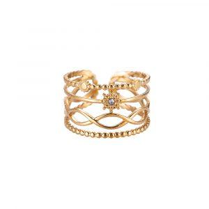 Thayet Edelstahl Ring Gold Alles Interior Boho Scandi Look anitimadeforyou Concept Store Langenfeld Trockenblumen, Trockenblumen Kränze, Workshops, Schmuck
