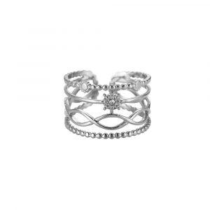 Thayet Edelstahl Ring Silber Alles Interior Boho Scandi Look anitimadeforyou Concept Store Langenfeld Trockenblumen, Trockenblumen Kränze, Workshops, Schmuck