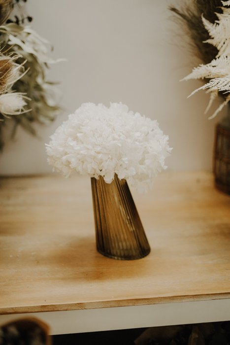 Glas Vase Pisa gelb braun Alles Interior Boho Scandi Look anitimadeforyou Concept Store Langenfeld Trockenblumen, Trockenblumen Kränze, Workshops, Schmuck