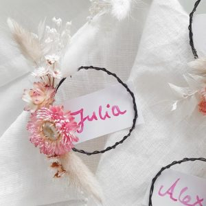 Mini Platzkarten DIY Set – Aniti x Hanna_Wol DIY Pakete und Zubehör Interior Boho Scandi Look anitimadeforyou Concept Store Langenfeld Trockenblumen, Trockenblumen Kränze, Workshops, Schmuck