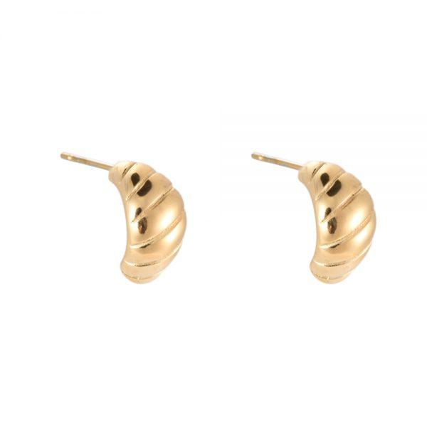 Ohrstecker Emory Gold und Silber Alles Interior Boho Scandi Look anitimadeforyou Concept Store Langenfeld Trockenblumen, Trockenblumen Kränze, Workshops, Schmuck