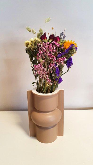 Vase Mocca HKLIVING Alles Interior Boho Scandi Look anitimadeforyou Concept Store Langenfeld Trockenblumen, Trockenblumen Kränze, Workshops, Schmuck