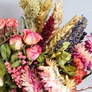 Trockenblumen Strauss Wildflowers M Pink Alles Interior Boho Scandi Look anitimadeforyou Concept Store Langenfeld Trockenblumen, Trockenblumen Kränze, Workshops, Schmuck