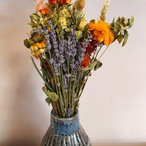 Trockenblumen Strauss Wildflowers M Blau Mix Alles Interior Boho Scandi Look anitimadeforyou Concept Store Langenfeld Trockenblumen, Trockenblumen Kränze, Workshops, Schmuck