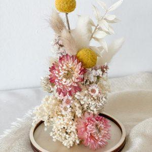 Glasglocke einzeln DIY Pakete und Zubehör Interior Boho Scandi Look anitimadeforyou Concept Store Langenfeld Trockenblumen, Trockenblumen Kränze, Workshops, Schmuck