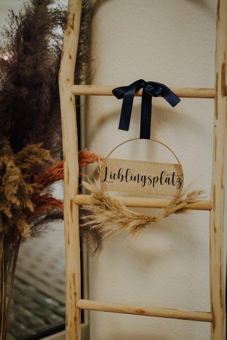 Trockenblumenkranz personalisiert – Pampas Mix 30cm Trockenblumenkränze und Ringe Interior Boho Scandi Look anitimadeforyou Concept Store Langenfeld Trockenblumen, Trockenblumen Kränze, Workshops, Schmuck