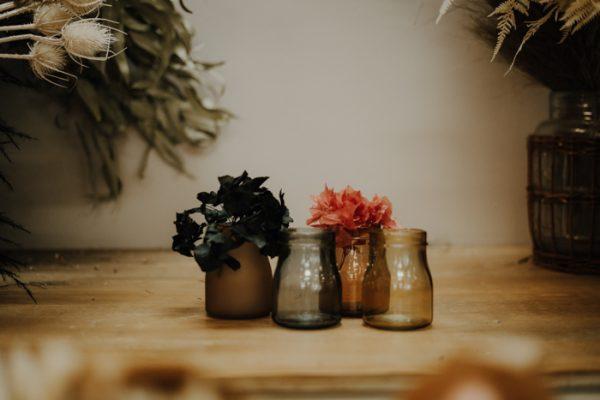 Mini Vasen Glas verschiedene Farben Alles Interior Boho Scandi Look anitimadeforyou Concept Store Langenfeld Trockenblumen, Trockenblumen Kränze, Workshops, Schmuck