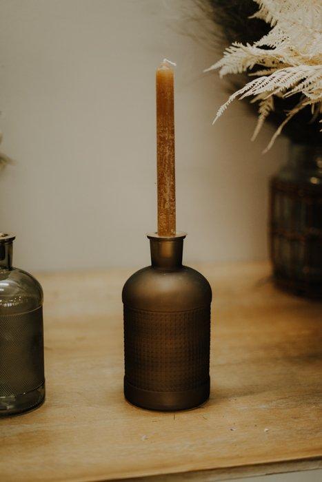 2in1 Kerzenglas und Vase – verschiedene Farben Alles Interior Boho Scandi Look anitimadeforyou Concept Store Langenfeld Trockenblumen, Trockenblumen Kränze, Workshops, Schmuck